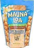 Mauna Loa Dry Roasted With Sea Salt Macadamia Nuts, 11-Ounce Package (Pack of 6)