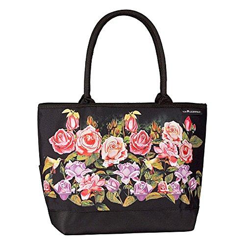 Bag Motif Lilienfeld Floral Rose Von Shopping Garden 0aEwxx4