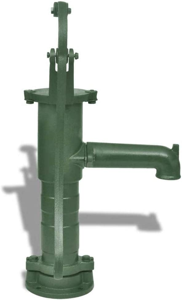 Bomba de Agua Con Soporte Para Jard/ín
