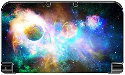 Colorful Galaxy New 3DS XL 2015 Vinyl Decal Sticker Skin by Demon Decal