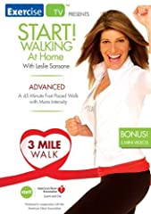 Stay fit and get heart healthy with a walk at home program! ExerciseTV and Leslie Sansone's Walk at Home, in cooperation with the American Heart Association have produced an advanced in-home walking workout that promises to challenge even the...