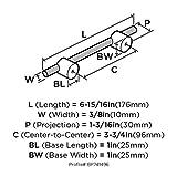 Transcendent 3-3/4 in (96 mm) Center-to-Center