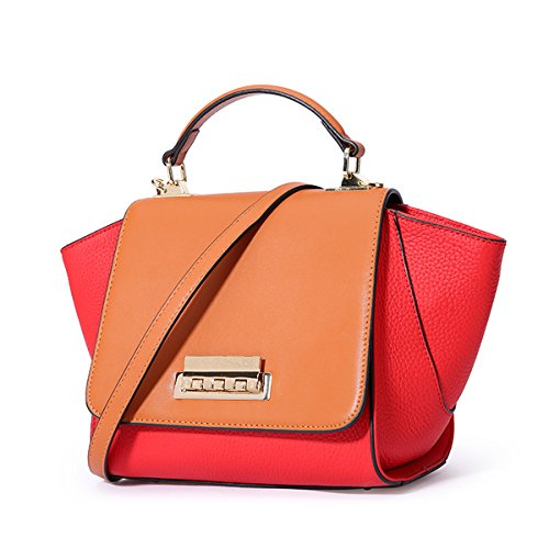 Dissa Bag red Q0961 Women Multiple Handbags Soft Leather Shoulder Pockets 0F0rq