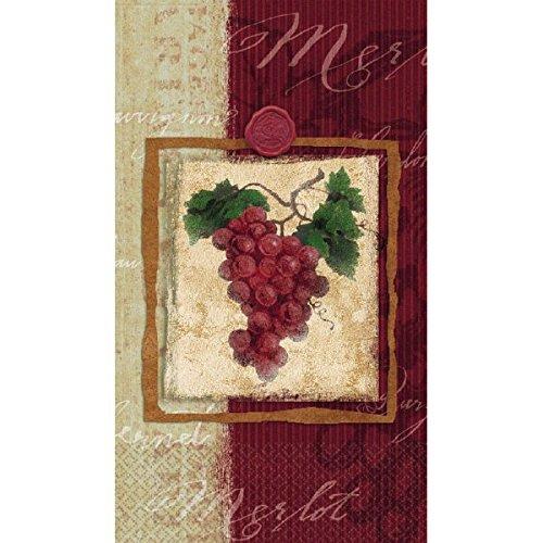 Vineyard Grape Hand Towels | 16 Ct. | 4
