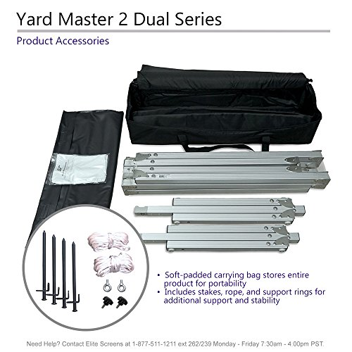Elite Yardmaster DUAL, 16:9, Projection, 4K/8K Ultra Active
