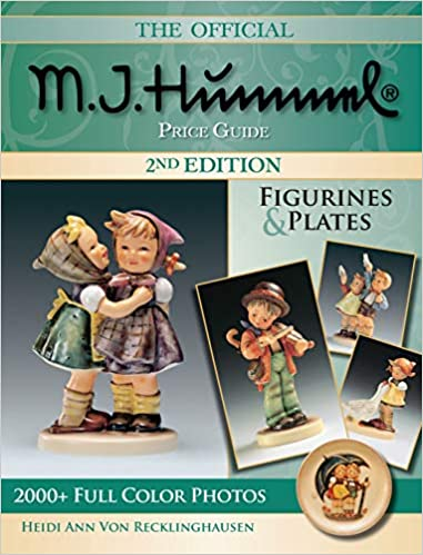 The Official M I Hummel Price Guide Figurines Plates Hummel Figurines And Plates Von Recklinghausen Heidi Ann 0074962016225 Amazon Com Books