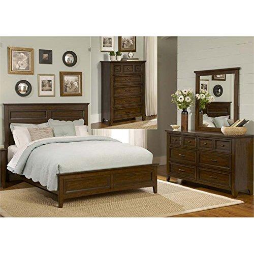 Liberty Furniture Laurel Creek 4 Piece Queen Panel Bedroom Set (Panel Full 4 Piece)