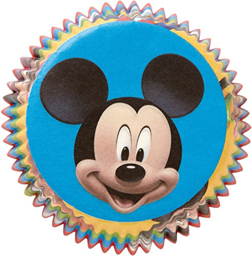 Mickey Cupcake Baking Cups (50 Pack)