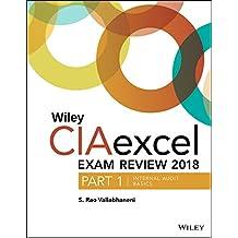 Wiley CIAexcel Exam Review 2018, Part 1: Internal Audit Basics