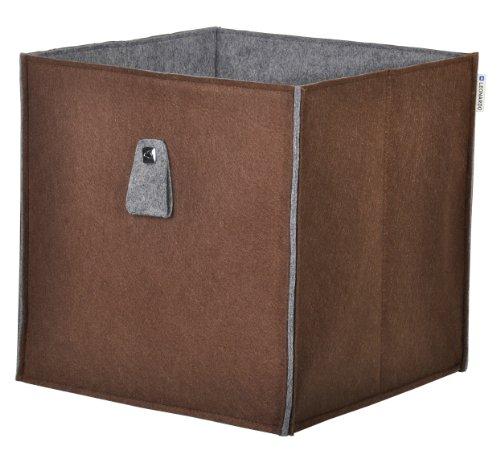 Phoenix Group 817401MO Leonardo Storage, Felt Box, Accessory, Mocca