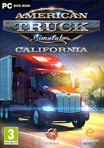 American Truck Simulator: California - Windows (PC DVD)