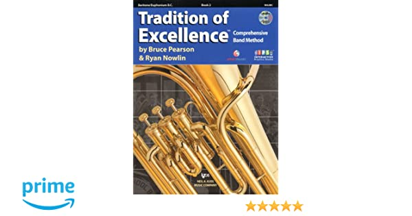 W62BC - Tradition of Excellence Book 2 - Baritone?Euphonium B.C. ...