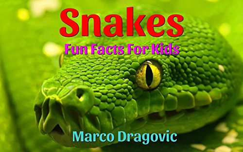 Snakes: Fun Facts For Kids, Picture Books For Kids by [Dragovic, Marco]
