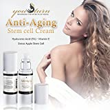 Stem Cell Therapy Anti Aging Face Cream Daily Moisturizer with Swiss Apple Stem Cells by YouTurn USA Organic Skin Care Products 30ml