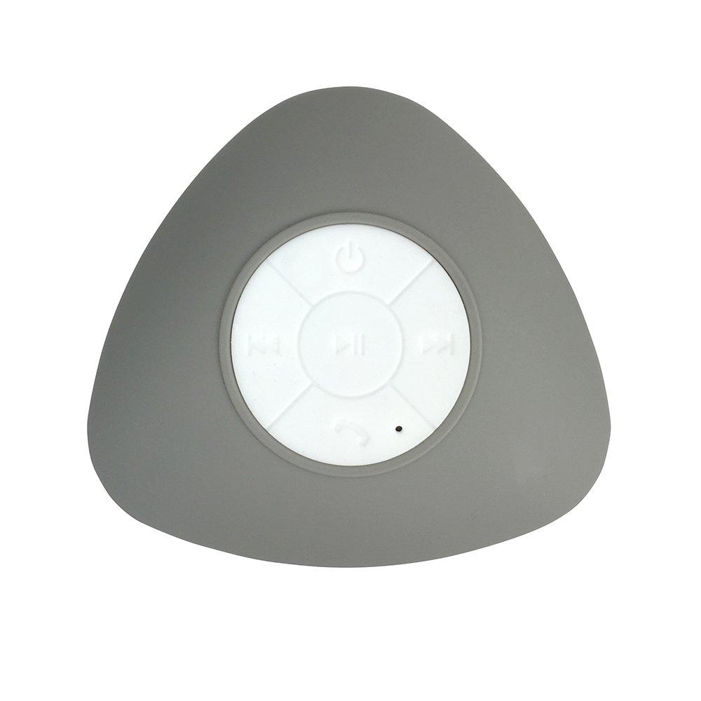 U'Be BeU Bluetooth Suction Wireless Shower Speaker, Grey
