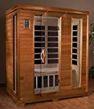 DYNAMIC SAUNAS AMZ-DYN-6444-04 Modena 2-Person Far Infrared Sauna - Curbside Delivery
