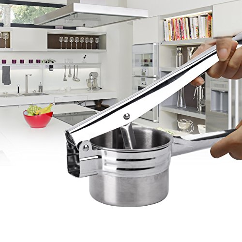 BeautyKitchen Stainless Steel Potato Ricer with 3 Interchangeable Disks by BeautyKitchen (Image #3)'