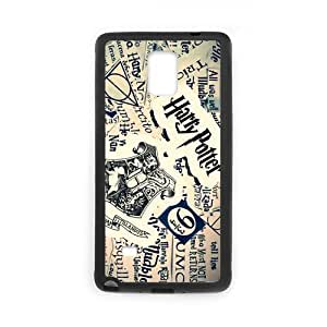 Fayruz- Personalized Harry Potter Protective Hard Rubber Phone Case for Samsung Galaxy Note 4 Note4 Cover I-N4O784