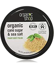 Organic Shop Foamy Body Polish Natural Cane Sugar and Sea Salt 250ml