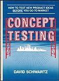Concept Testing, David M. Schwartz, 0814459056
