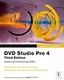 Apple Pro Training Series: DVD Studio Pro 4 by Sitter, Martin, Ramseier, Adrian, Carman, Robbie, Harrington (2009) Paperback