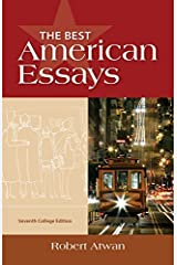 The Best American Essays, College Edition Paperback