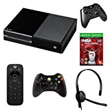 Xbox One Console & NBA 2K14 Super Fan Pack Bundle with Xbox One Media Remote, Chat Headset and 360 Wireless Controller