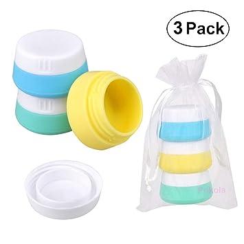Amazon.com: Contenedores de silicona para cosméticos ...