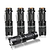 Hausbell 7W Mini LED Flashlight (5 pack)