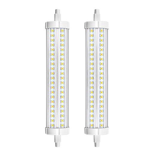 Bonlux No Regulable 30W R7S 189MM LED Bombilla Lineal J189 con 3000LM para Lámpara de Pie, Lámpara de Techo, Apliques de Pared (Luz Fría, 2-Unidades)