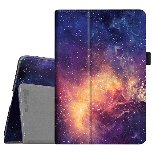 Fintie iPad Mini 4 Case - Premium Vegan Leather Folio Case Smart Stand Protective Cover with Auto Sleep/Wake Feature for Apple iPad Mini 4 Released on 2015, Galaxy