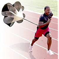 BYTE-SHOP Paracaidas para Mejorar Velocidad En Atletismo