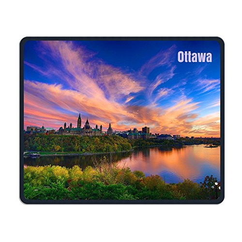 Ottawa Mouse Pad Special Treated Textured Weave Rubber 9.8