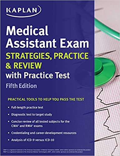 Amazon medical assistant exam strategies practice review medical assistant exam strategies practice review with practice test kaplan test prep fifth edition kindle edition fandeluxe Image collections