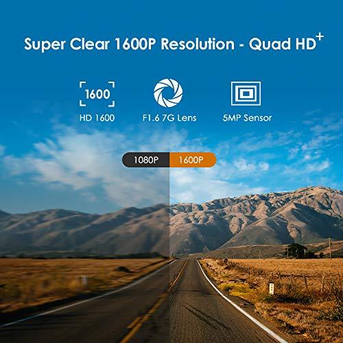 VIOFO A119 V3 2K Dash Cam 2560x1440P Quad HD+ Car Dash Camera, Ultra Clear Night Vision, 140-Degree Wide Angle, GPS…