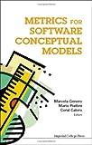 Metrics for Software Conceptual Models, , 1860944973