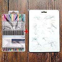 COCODE 10 plantillas de plástico para pintar, dibujar