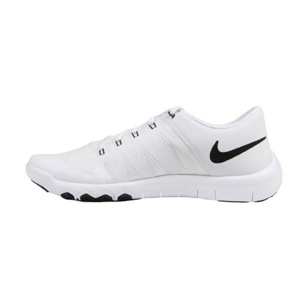 new product b5d2e 66d8a Nike 723987 Free Trainer 5.0 TB Men's Training Shoes - White/Black-Cool  Grey - 6.5