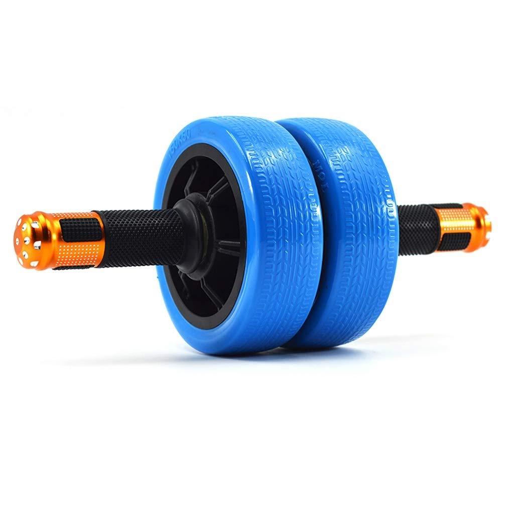 NSHUN 男性と女性のためのアブホイールローラー - ホームフィットネスやジムのための最高の有酸素運動エクササイズ (色 : 青)  青 B07Q8SLW3K