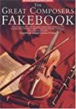 The Great Composers Fakebook, James H. Bryan, 0825617022
