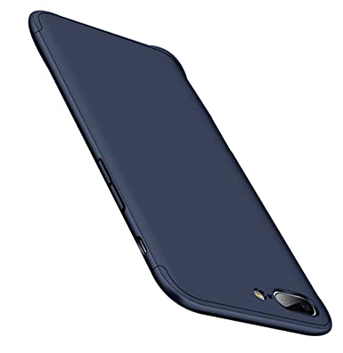 Qissy Carcasa OnePlus 5 3 in 1 Todo Incluido Anti-Scratch Ultra Slim Protective PC Case Cover para OnePlus 5 5.5