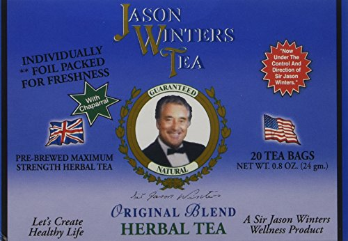 Jason winters original blend herbal tea 20 count