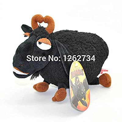 "New How To Train Your Dragon 8"" Black Sheep Plush Soft Toy : Baby"