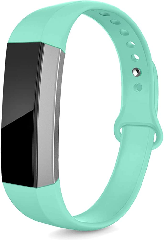 NAHAI Bands Compatible with Fitbit Alta HR//Fitbit Alta//Ace Women Men Large Small Soft Silicone Replacement Bands Adjustable Sport Strap Wristbands Accessories for Fitbit Alta//Ace