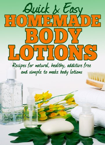 Homemade Body Lotions Recipes additive ebook