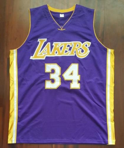 7133c1ec5 Amazon.com  Shaquille O Neal Autographed Signed Jersey LA Lakers - JSA  Certified - Autographed NBA Jerseys  Sports Collectibles