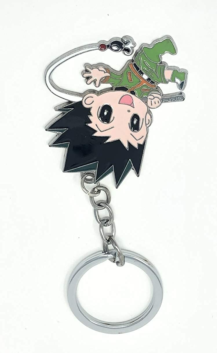 S Party Supply Hunter X Hunter Gon Freecss Metal Key Chain Keyring Toy Accessory