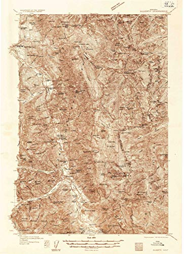 MT topo map, 1:96000 Scale, 30 X 30 Minute, Historical, 1936, 26.4 x 19.1 in - Paper ()