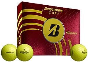 Bridgestone Golf 2014 Tour B330 RX Golf Balls (Pack of 12), Yellow