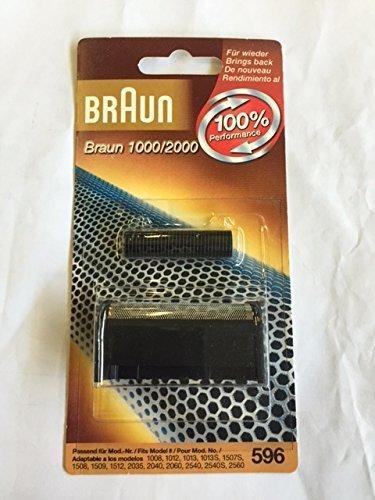 Cutterblock Replacement Pack - Braun 1000FC Precision Series Foil/Cutterblock Replacement Pack